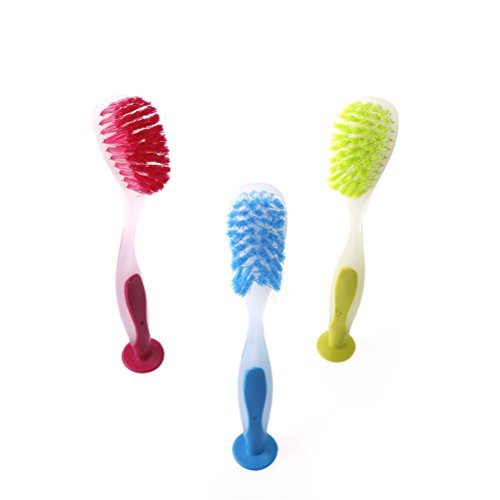 New Multifunctional High Quality Silicone Brush Cleaning Rotary Long Handle Scrubbing Baby Milk Bottle Brush Cleaner Bracing Up The Whole System And Strengthening It Bottle Feeding