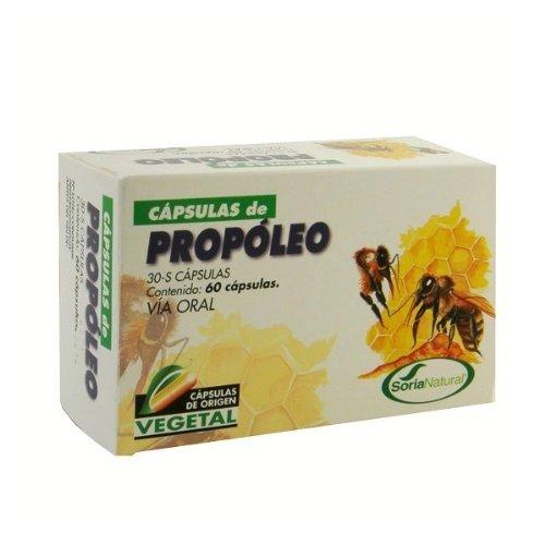 Soria Natural Propóleo Liberación Sostenida Jalea Real - 30 Cápsulas
