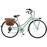 Via Veneto By Canellini Bicicleta Bici Citybike CTB Mujer Vintage Retro Via Veneto Acero (Vert