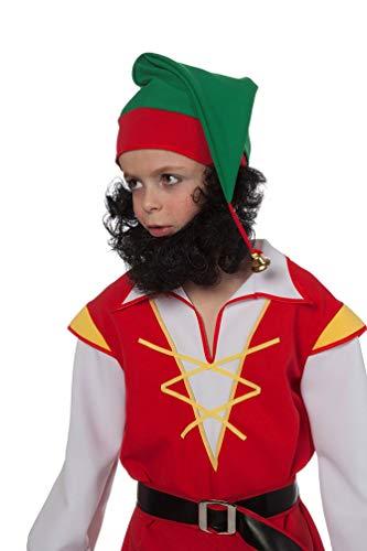Karneval-Klamotten Zwergenbart Kinder braun Bart Zwerg-e ()