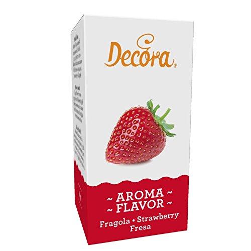 AROMA FRAGOLA DECORA 50 GR LIQUIDO