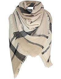 foulards , Tefamore Mode Lady Femmes Longue enveloppe souple Lady Châle  Écharpe Écharpe Collier écharpe bc5c129aaea