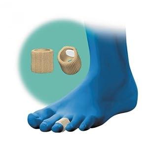 Kosmetex Hydro-Gel Zehenschutz zur Schmerzentlastung bei Hammerzehen, Hühneraugen