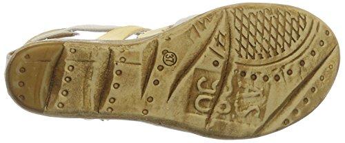 A.S.98 Noa, Bride cheville femme Beige (Grano/Dune/osso/Bianco)