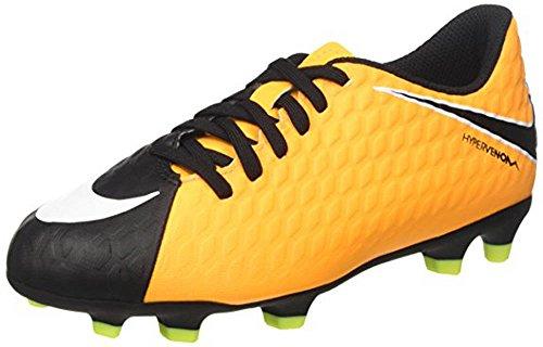 Fg Iii nero Calcio Phade v Bianco Misto Hypervenom Arancione Da Scarpe Bambino Laser Nike qSUAw6Htn
