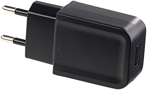 PEARL Kompaktes USB-Netzteil (5 V) mit 2 A Ladestrom, 10 Watt Output-Power