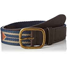 Brixton Belt Course, navy/ruggine Combo, S/M, (Fibbia Combo)
