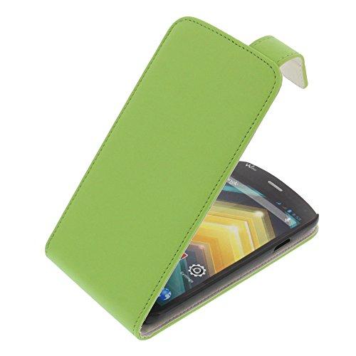Tasche für Wiko Barry Flipstyle Schutz Hülle Handytasche grün