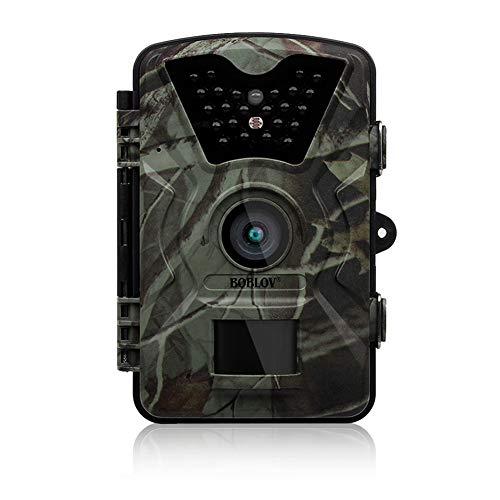 """EisEyen Wildkamera mit Bewegungsmelder Nachtsicht, Wildkamera Premium Pack Wild-Vision Full hd 5.0, Wildkamera Fotofalle 1080P Full HD Überwachungskamera mit 2.4\""""\"""" LCD"""