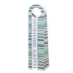 Susy Card 11087194 Pochette cadeau en papier plastifié mat Motif lignes