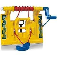 Rolly Toys Seilwinde rollyPowerwinch, Anbauseilwinde für Front- und Heckkupplung aller Rolly Toys Traktoren und Unimogs, Trettraktorzubehör für Kinder ab 3 Jahren, gelb, 409006