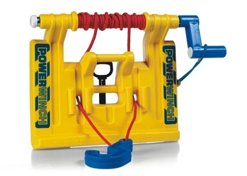 *Rolly Toys 409006 Seilwinde Powerwinch, passt an Front und Heckkupplung aller großen Rolly Toys Traktoren und Unimog (geeignet für Kinder ab 3 Jahren, Farbe Gelb)*