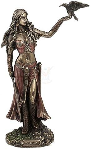 Morrigan keltische Königin des Krieges Statue Figur