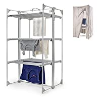 Dry:Soon Deluxe 3-Tier Heated Airer & Cover Pack (Under 6p / Hour!)
