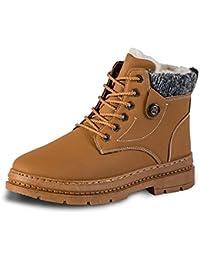 f3e864fc Zapatillas de Hombre, Más Botas de Terciopelo de Hombres Zapatos de  Invierno Botines de Nieve