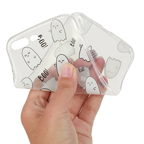 KM-WEN® Schutzhülle für Apple iPhone 6 Plus / 6s Plus (5,5 Zoll) Ultra-dünnes Feder Muster Hollow Hohl Slim Weiche TPU Case Cover Rückseite Schutzhülle Hülle für Apple iPhone 6 Plus / 6s Plus (5,5 Zol Farbe-8