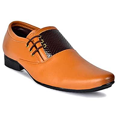 AADI Men's Synthetic Formal Lace Up Shoes