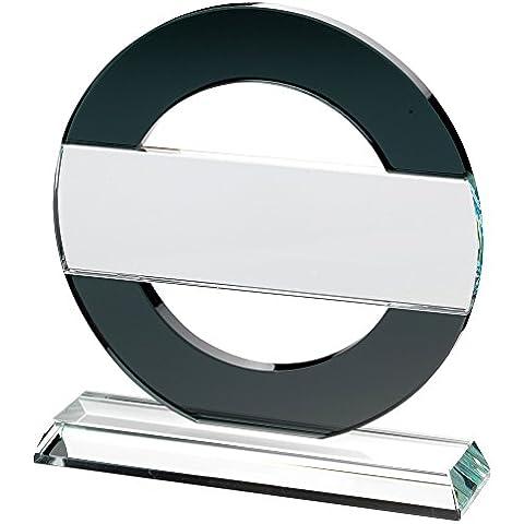 Circular placa trofeo–