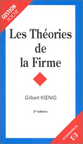 Les théories de la firme