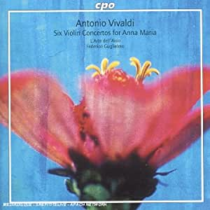 Vivaldi: Six Violin Concertos for Anna Maria [Hybrid SACD]