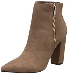 Forever 21 Womens Taupe Boots - 6.5 UK/India (38.5 EU)(8.5 US)(0019409102)