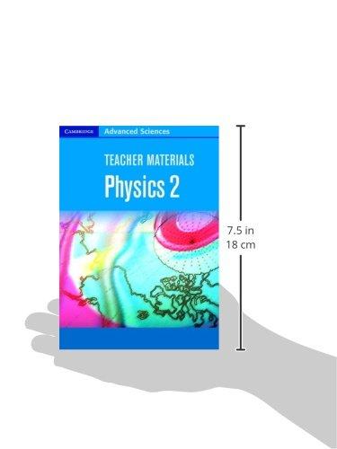 Teacher Materials Physics 2 CD ROM (Cambridge Advanced Sciences)