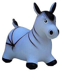 HAPPY GIAMPY Zebra Juego Inflable