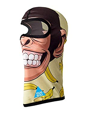 LLB Balaclava Full Face Mask For Men & Women Fit Helmet Winter Outdoor Sports - Ski - Cycling - Motorcycle Neck Protection Basis Weight 225 g/m2 Banana from LLB