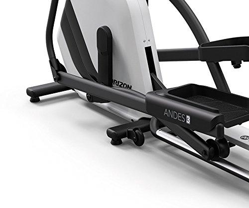 Horizon Fitness Andes 3 Elliptical Ergometer – inkl. FT1 Polar Pulsuhr und Brustgurt - 5