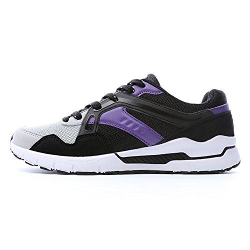 Fexkean Scarpe da Sportive Ginnastica Corsa Basse Running Walking Fitness Casual Respirabile Mesh da Uomo Donna 35-46 Viola
