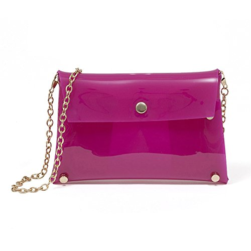 Flada, Borsa a tracolla donna bianco Rose Pink small Rose Pink