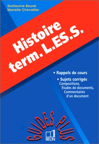 Histoire Terminales L, ES, S