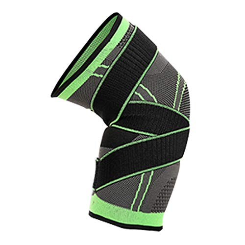 Naisicatar Knie Sleeve Compression Knie-Klammern mit verstellbarem Gurt für Gelenkschmerzen und Arthritis Relief (XL) Geschenk für den Winter -
