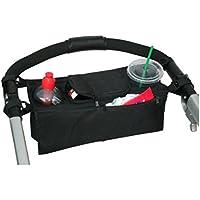 Togather® Universale misura rimovibile Baby passeggino Organizer con deposito borse e 2 Deep isolati