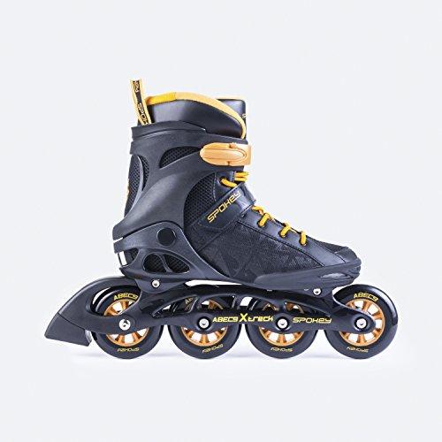 SPOKEY® XTREC Inline Skates | Kinder | Damen | Inline Blades | ABEC9 Chrome | Aluminiumschiene | Größen 37-46