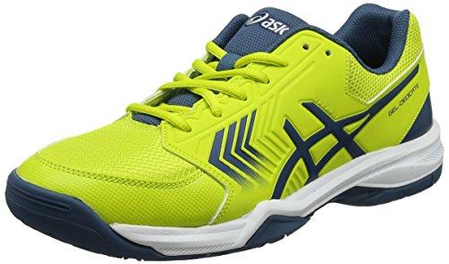 Gel-Dedicate 5, Chaussures de Tennis Homme, Multicolore (Sulphur Springink Bluesilver), 42.5 EUAsics