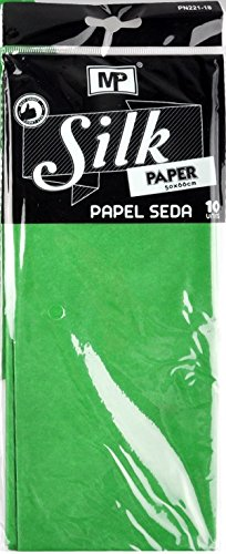 mp-pn221-18-pack-of-10-sheets-of-tissue-paper-50-x-66-cm-green
