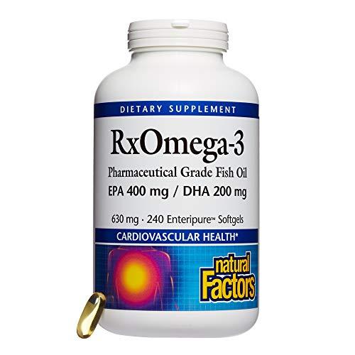 Molekular Destilliert, Fischöl (Natural Factors, Dr. Murray's Rx Omega-3 Factors, 240 Weichkapseln)