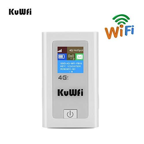 KuWFi Router Móvil 4G LTE