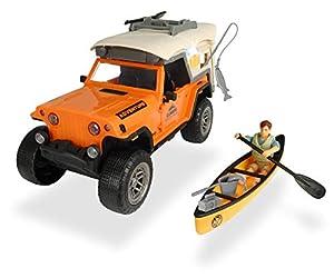 Set L Playlife camping Jeep con figura y accesorios (Dickie 3835004)