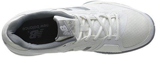 New Balance - Wc896 B, Scarpe da tennis Donna Bianco (WB1 WHITE/SILVER)