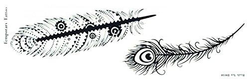 Nouveau design Spestyle Longue bande autocollant de tatouage temporaire Longueur 8.66\