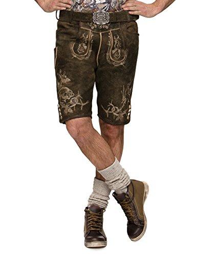 Stockerpoint Herren Trachten Lederhose Hose Laurenz