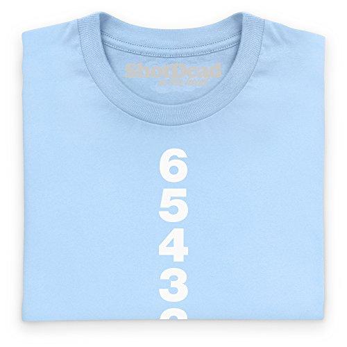 Shifter T-Shirt, Herren Himmelblau