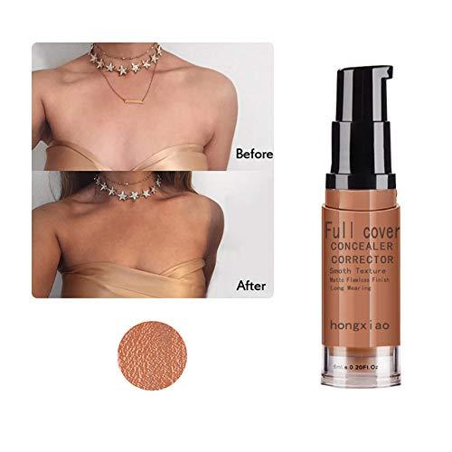 Lucoss Skin Bedeckung Feuchtigkeitsspendende Hautaufhellung Hautnarben Sommersprossen Narben Creme Flüssigkeit