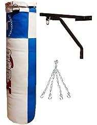 MADX - Conjunto de saco de boxeo (1,2 m), soporte de pared y cadena