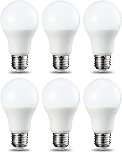 AmazonBasics Ampoule LED E27 A60 avec culot à vis, 8.5W (équivalent ampoule incandescente 60W), blanc froid -
