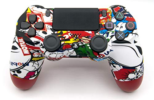 Expressive Skin Ps4 Pro Sticker Bomb Limited Edition Glossy Vinyl Decal Cover