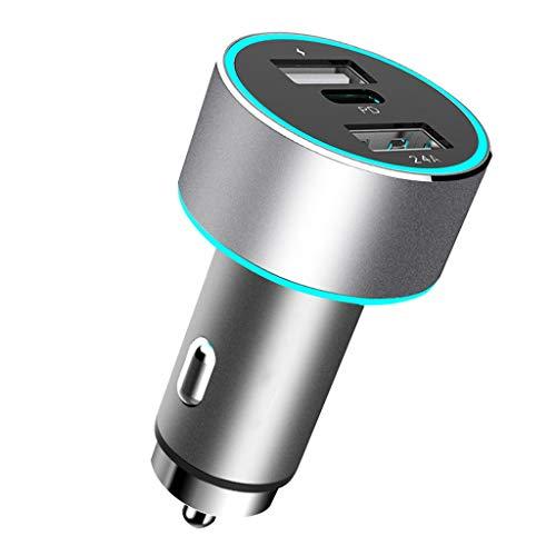 Cargadores de Coche Cargador del Coche del Puerto 5.4A del USB 2, Poder del Coche de la función Multi del Cargador 12V / 24V del Coche Cargadores de Coche