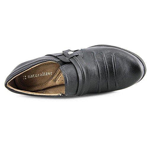 Toe Naturalizer Kaz Round synthétique Loafer Black